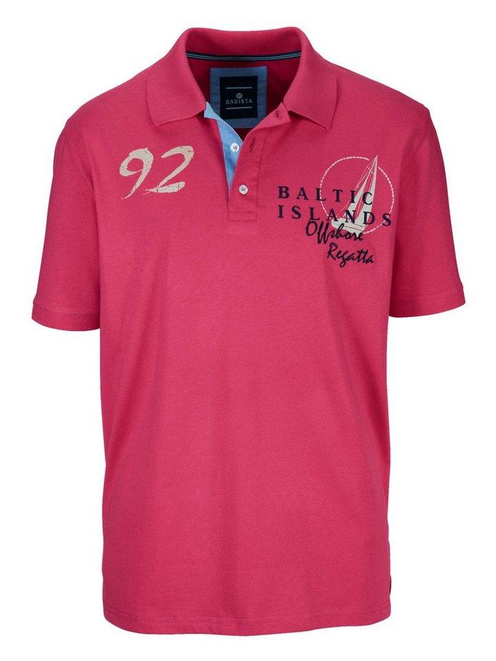 Babista Poloshirt in fuchsia