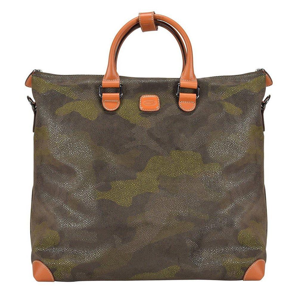Bric's Life Shopper Tasche 40 cm Laptopfach in military