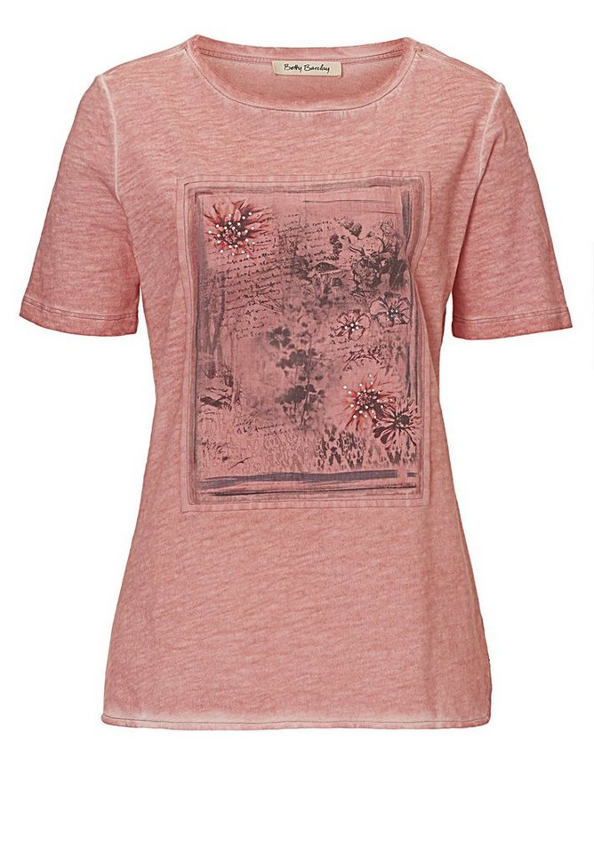 Betty Barclay Shirt in Pale Rose - Rot