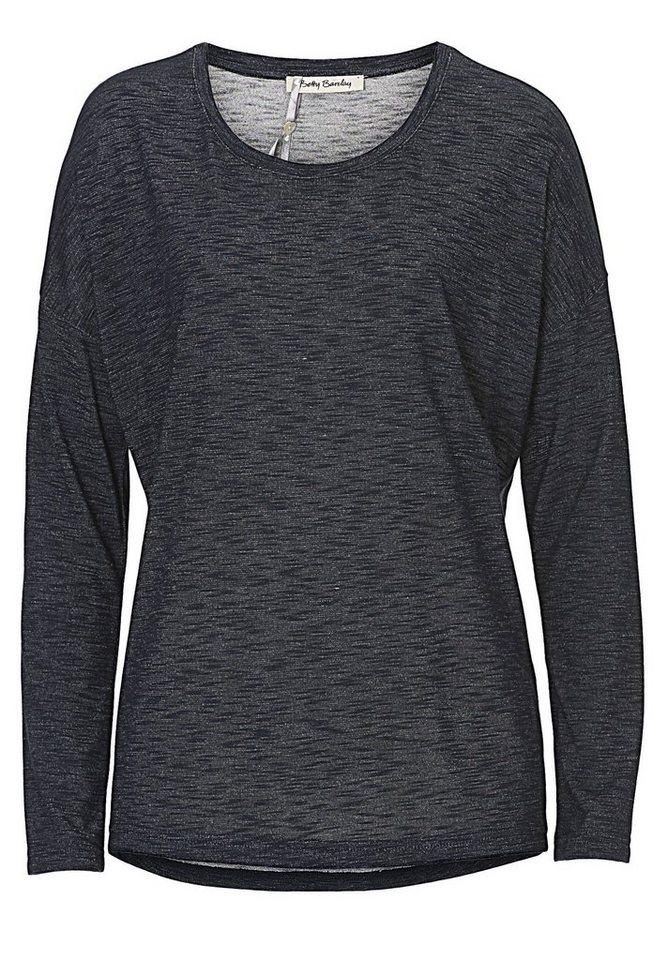 Betty Barclay Shirt in Dunkelblau/Weiß - Bl