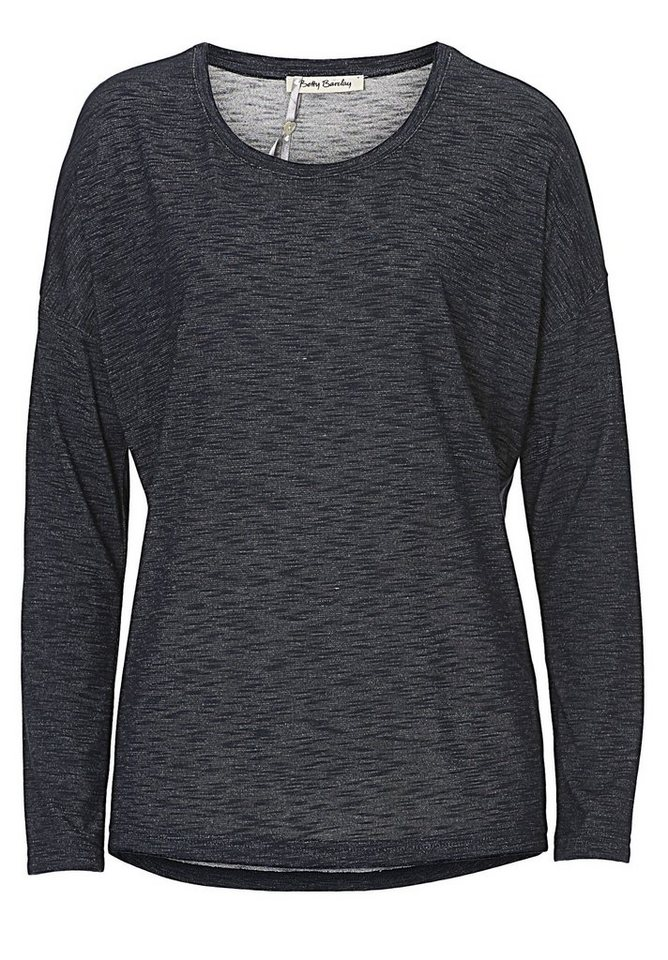 Betty Barclay Shirt in Dunkelblau/Weiß - Bu