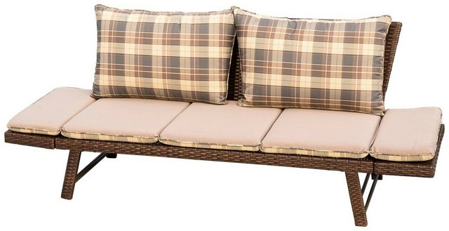 Loungesofa Daybed Rattan