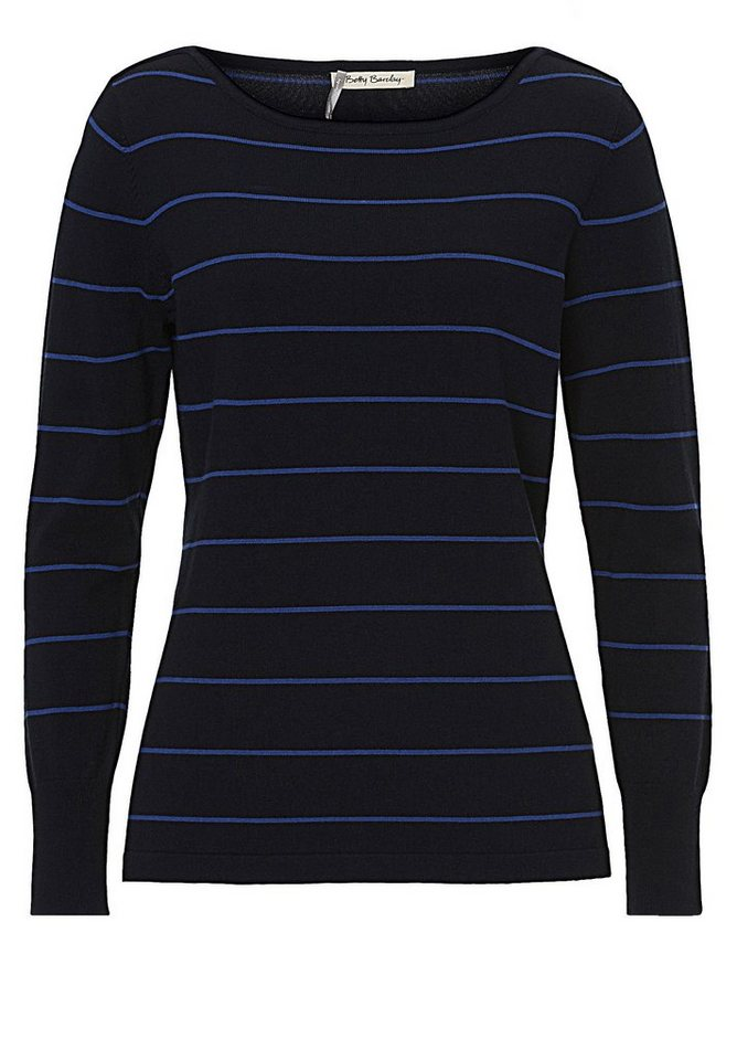 Betty Barclay Strickpullover in Dunkelblau/Blau - Bl
