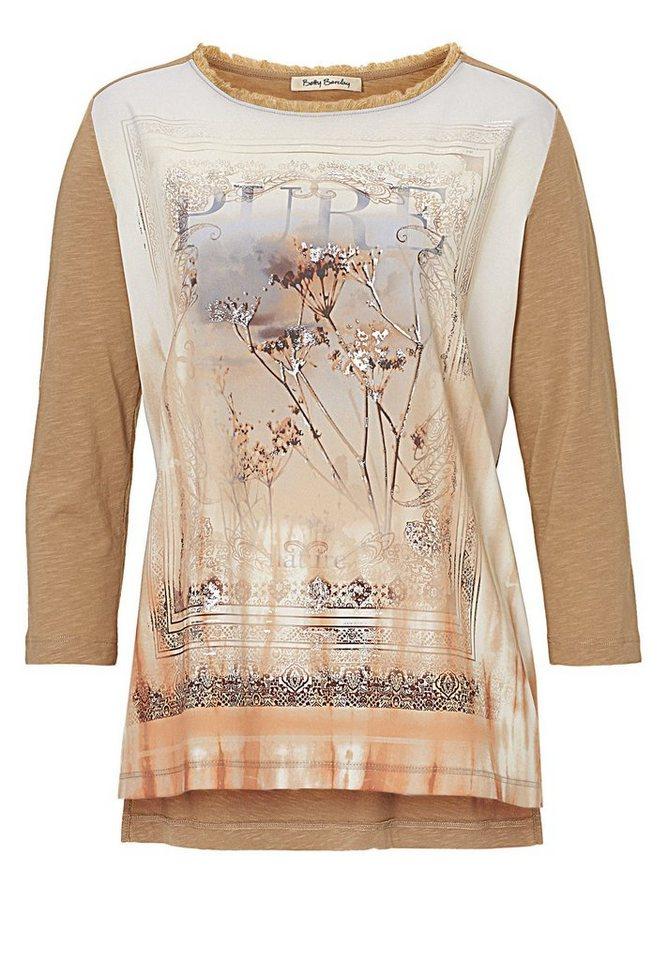 Betty Barclay Shirt in Camel/Orange - Braun