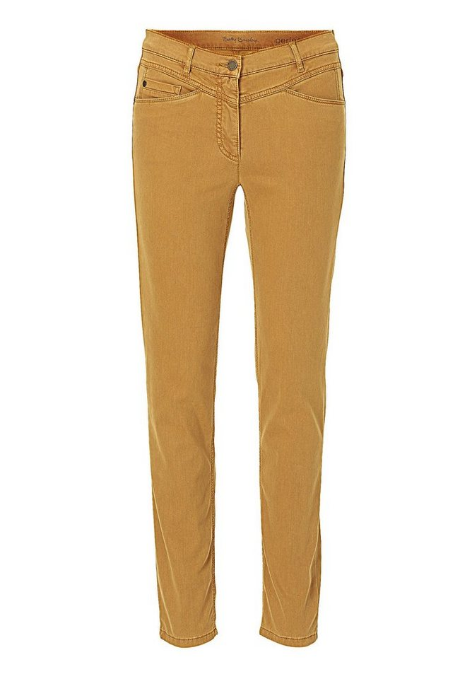 Betty Barclay Hose in gold - Braun