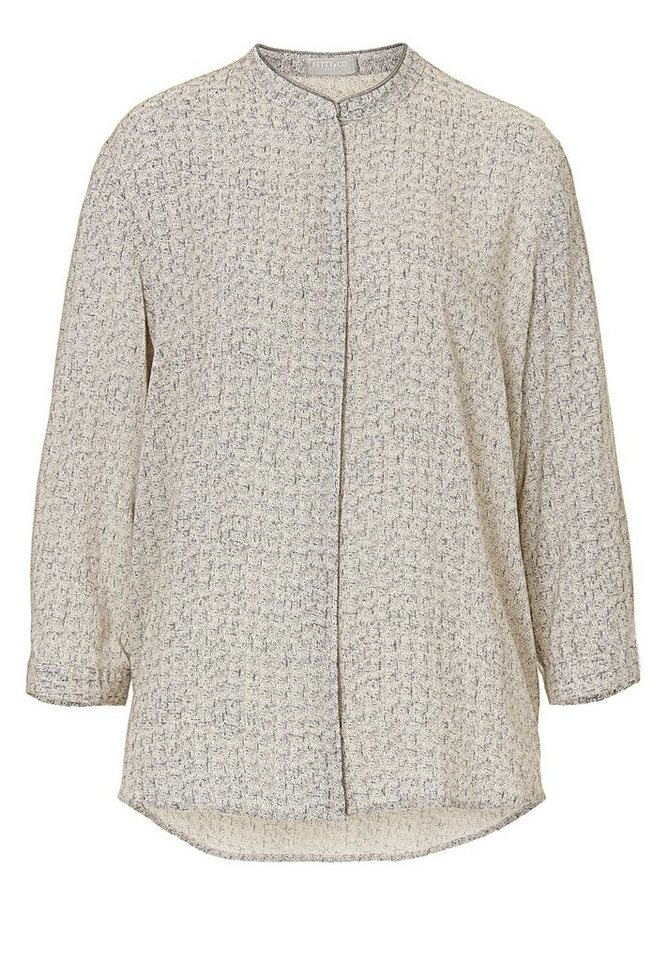 Betty&Co Bluse in Brass/Grey - Gelb