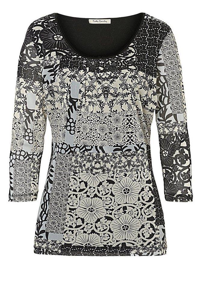 Betty Barclay Shirt in Schwarz/Weiß - Bunt