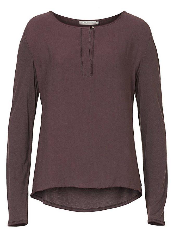 Betty&Co Shirt in braun - Rot