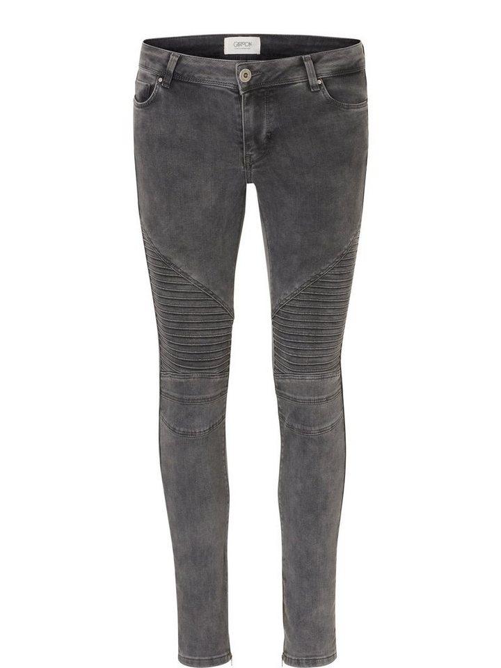 Cartoon Jeans in Light Grey Denim - B