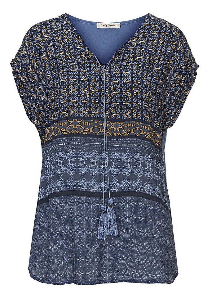 Betty Barclay Shirt in Blau/Blau - Bunt