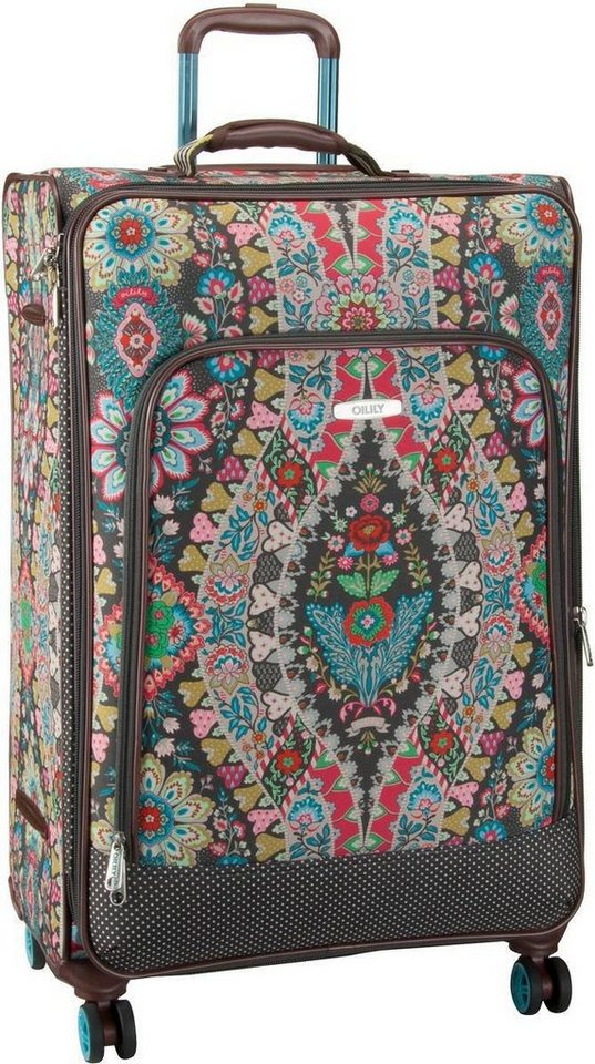Oilily Travel L Trolley Spinner in Charcoal