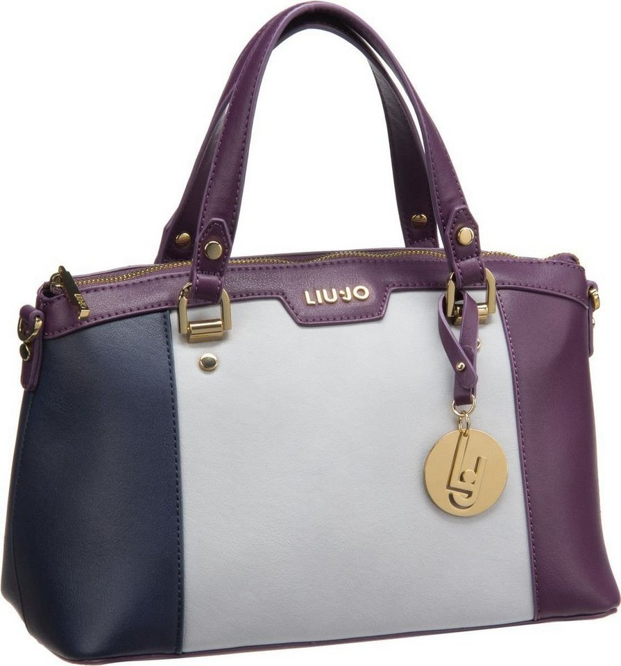 Liu Jo New Cannes Mini Bauletto in Dark Blue/Frozen/Dar