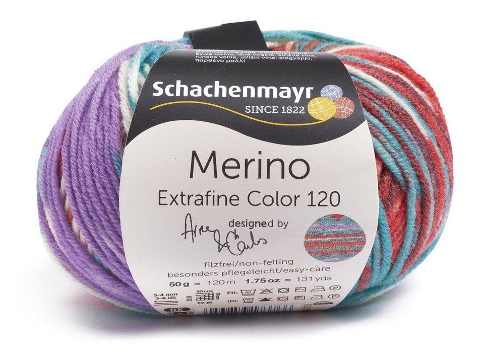 """Schachenmayr """"Merino Extrafine Color 120"""" in Lom Color"""