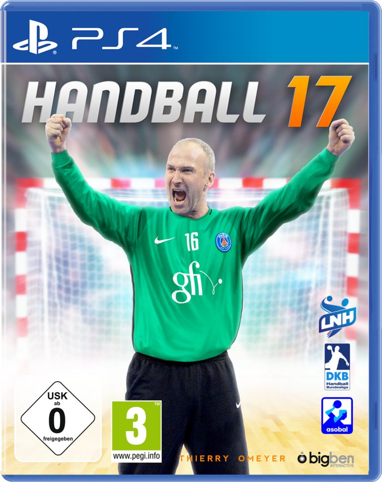 BIGBEN Handball 17 »(PS4)«
