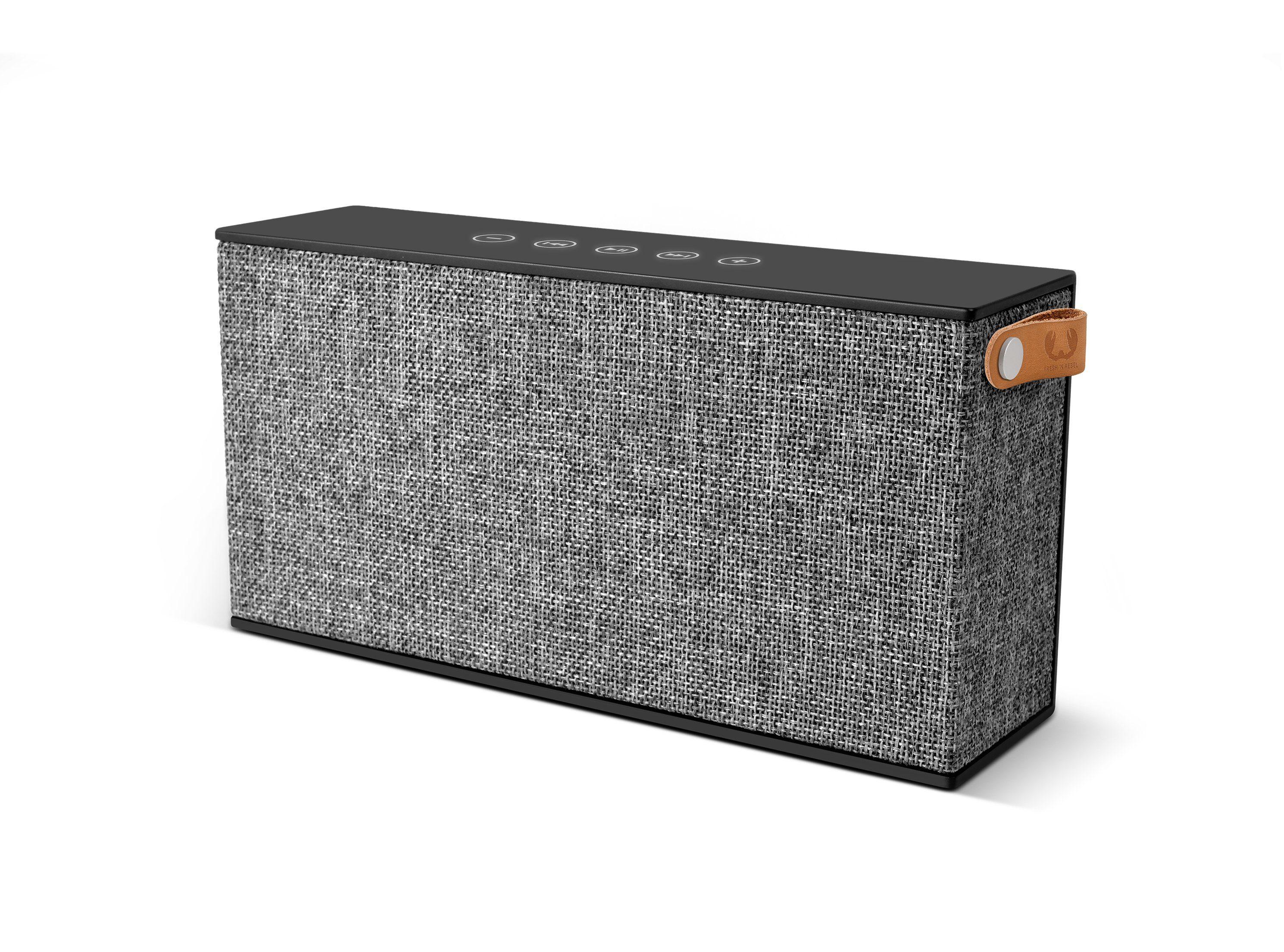 Fresh´n Rebel Bluetooth-Lautsprecher »Rockbox Chunk Fabriq Edition, Concrete«