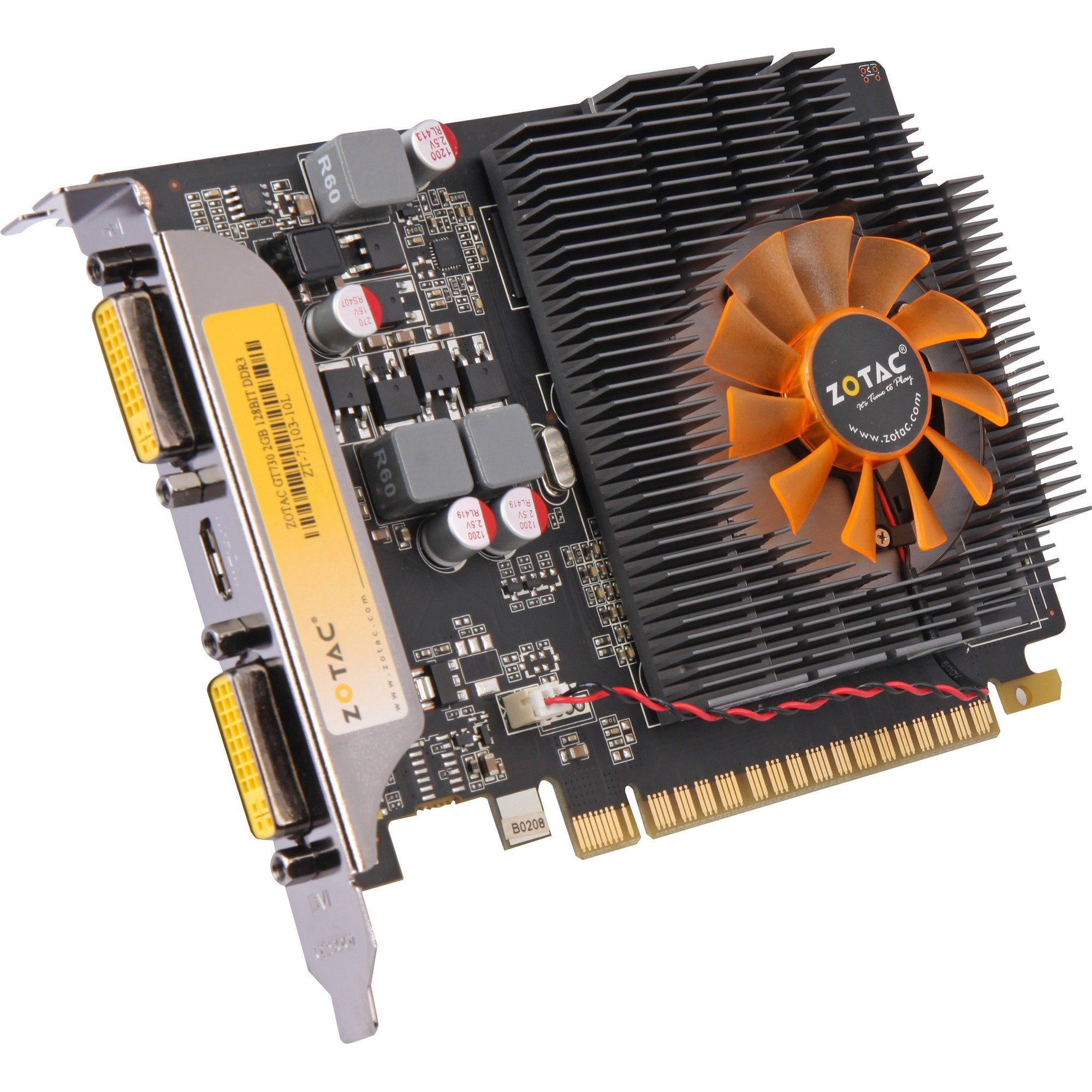 ZOTAC Grafikkarte »GeForce GT 730 2 GB«