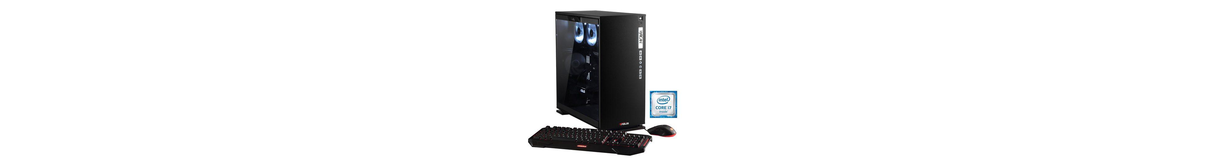 Hyrican Gaming PC Intel® i7-6850K, 32GB, GeForce® GTX 1080 »Elegance 5331 blanc - powered by ASUS«