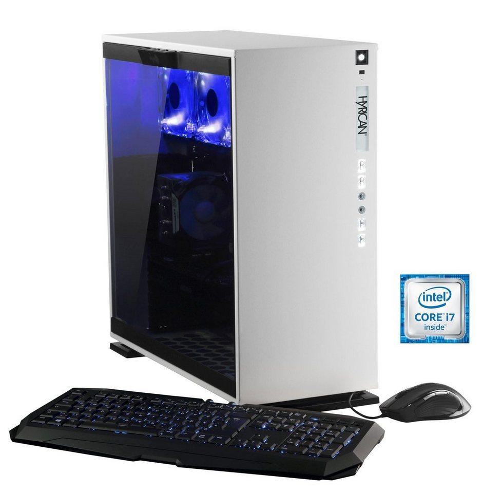 Hyrican Gaming PC Intel® i7-6700K, 16GB, 1TB, 250GB, GeForce GTX® 1070 »Elegance 5335 blanc«
