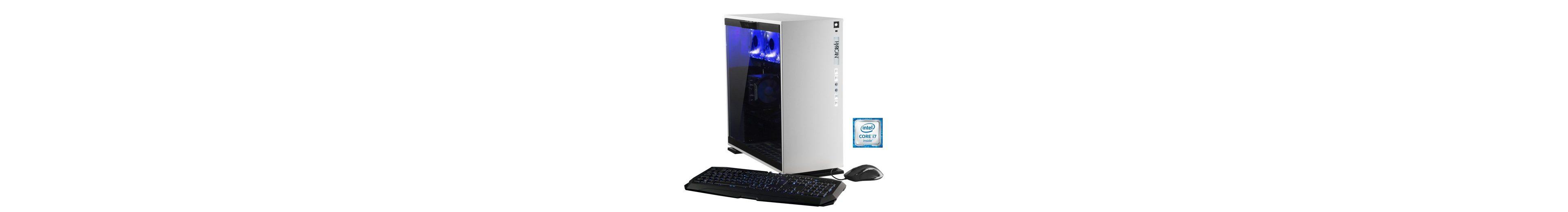 Hyrican Gaming PC Intel® i7-6700K, 32GB, 1TB, 500GB, GeForce GTX® 1080 »Elegance 5339 blanc«