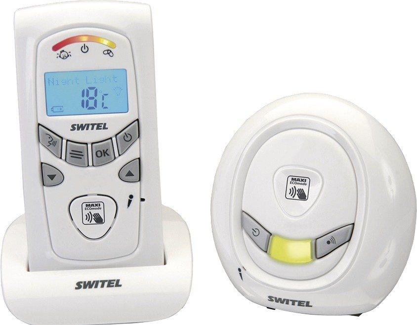 Switel Babyfon mit Temperaturüberwachung und Alarmfunktion »BCC 58« in weiß