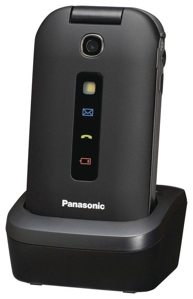 Panasonic Einfaches Klapphandy mit Farbdisplay »KX-TU339« in schwarz