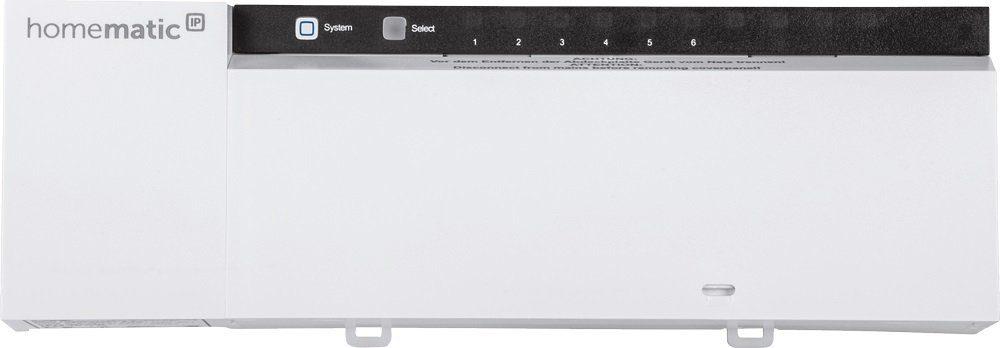 Homematic IP - Smart Home - Energie & Komfort »Fußbodenheizungsaktor - 6-fach, 230V«