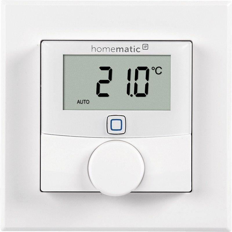 Homematic IP - Smart Home - Energie & Komfort »Wandthermostat mit Luftfeuchtigkeitssensor« in weiss