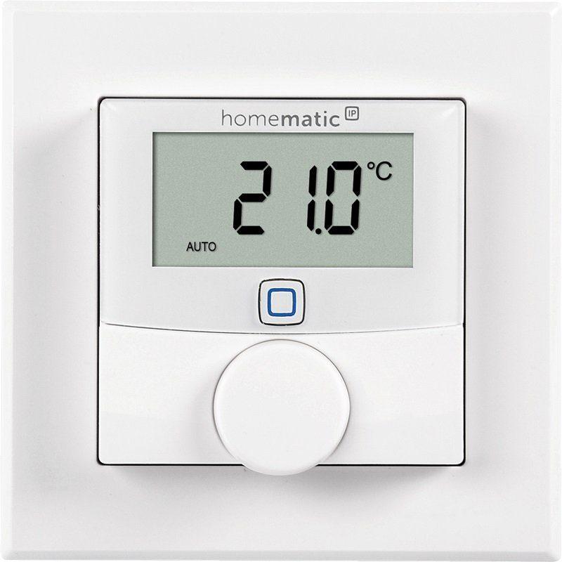 Homematic IP - Smart Home - Energie & Komfort »Wandthermostat mit Luftfeuchtigkeitssensor«