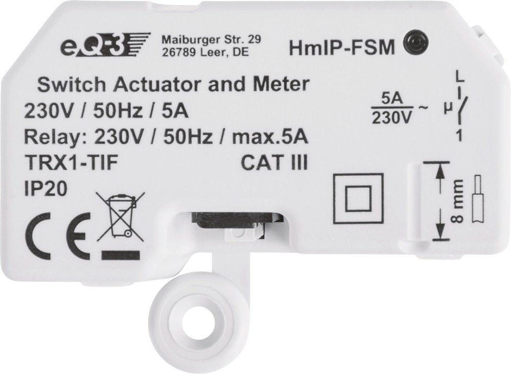 Homematic IP - Smart Home - Licht & Komfort »Schalt-Mess-Aktor - Unterputz«