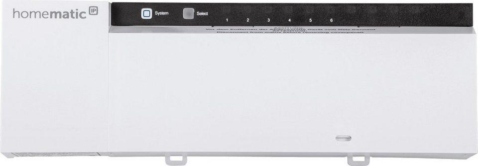 Homematic IP - Smart Home - Energie & Komfort »Fußbodenheizungsaktor - 10-fach, 230V« in weiss