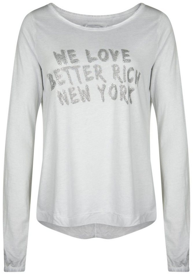 "Better Rich Longsleeve »MIX ""LOVE""« in high rise"