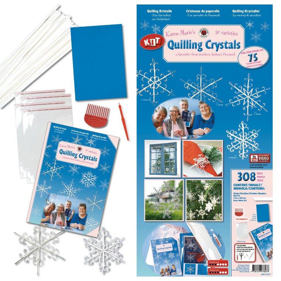 "Karen Marie Klip Karen-Marie Set ""KMs special quilling Crystal kit"""