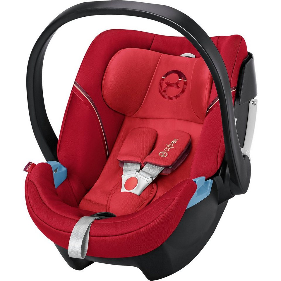 Cybex Babyschale Aton 5, Gold-Line, Infra Red-Red, 2017 in rot