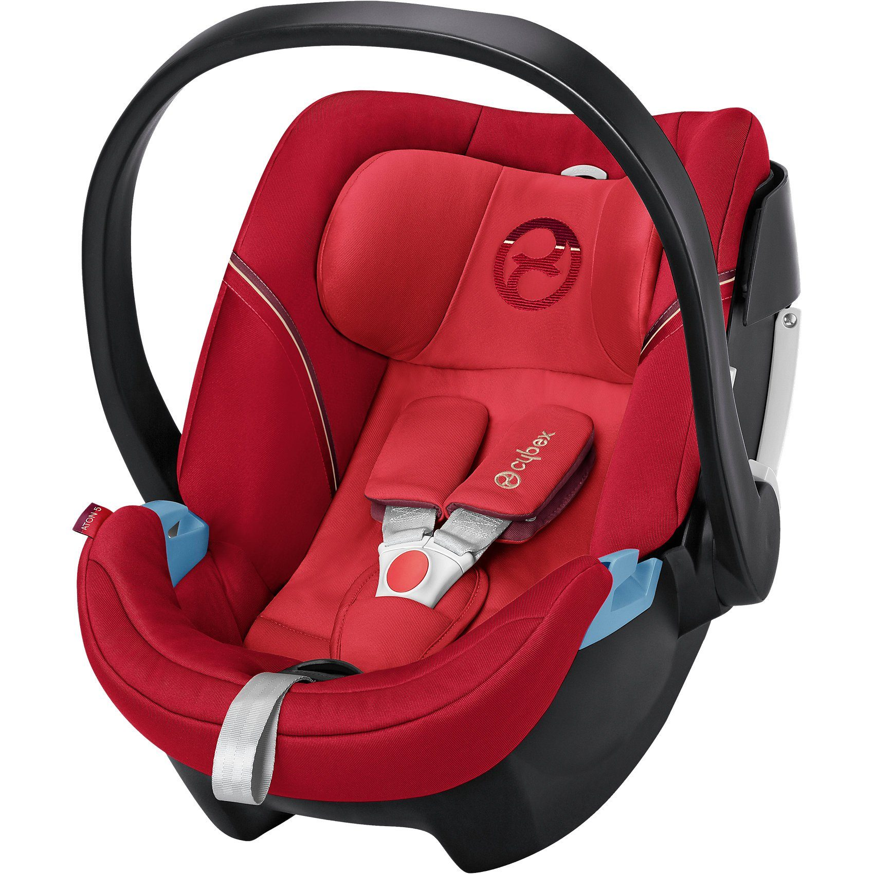 Cybex Babyschale Aton 5, Gold-Line, Infra Red-Red, 2017