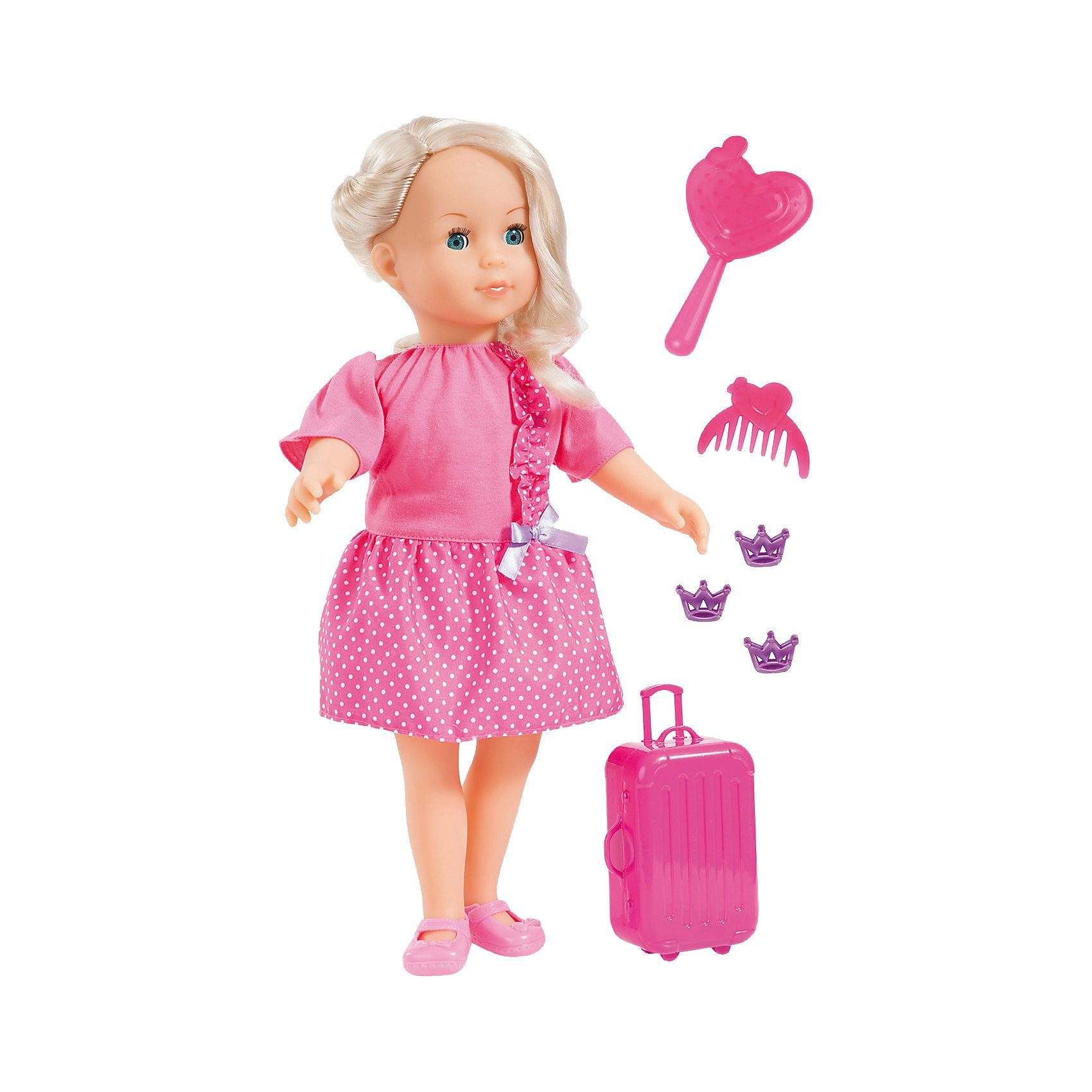 Bayer Stehpuppe Charlene Love Travel Set 40 cm
