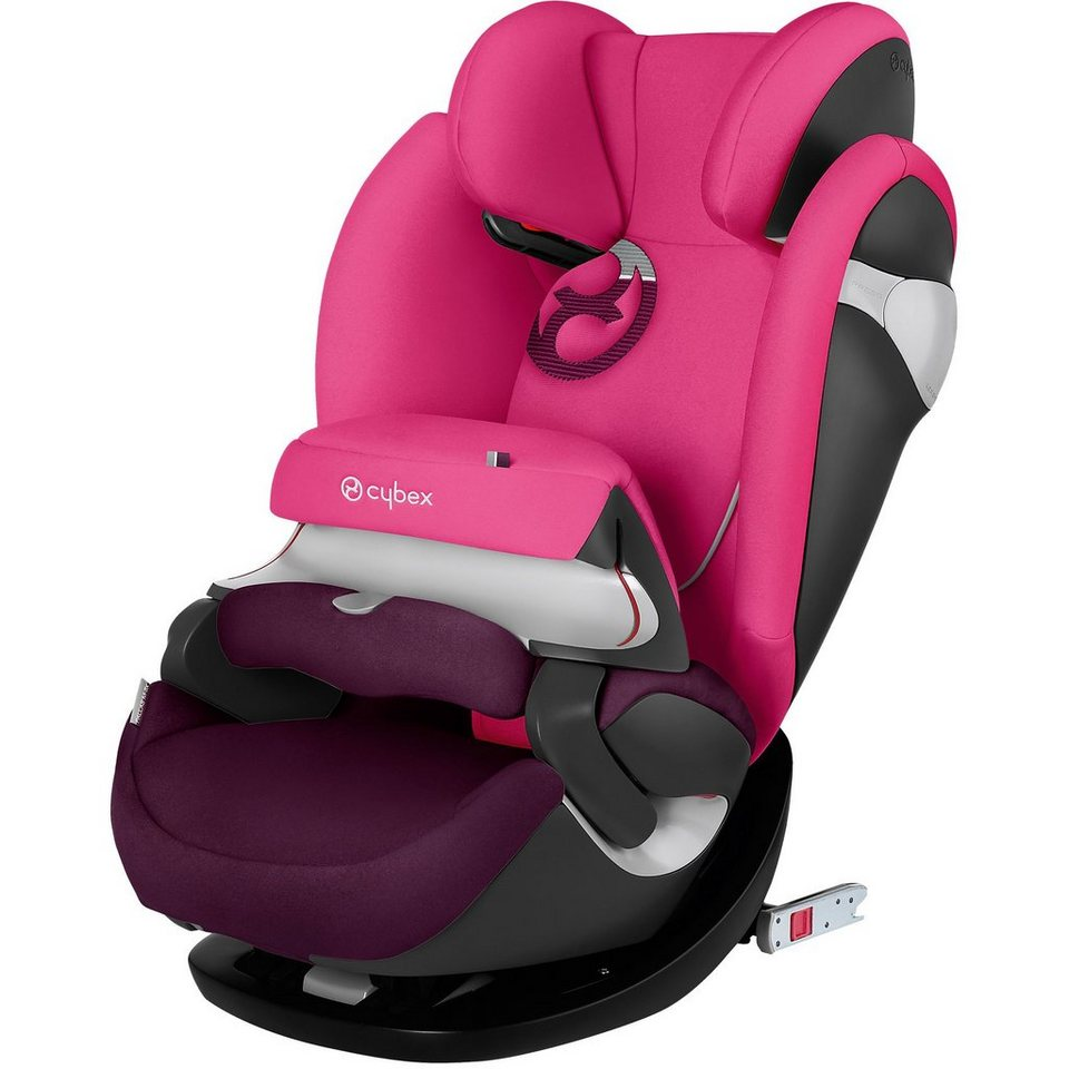 Cybex Auto-Kindersitz Pallas M-Fix, Gold-Line, Mystic Pink-Purple, in pink