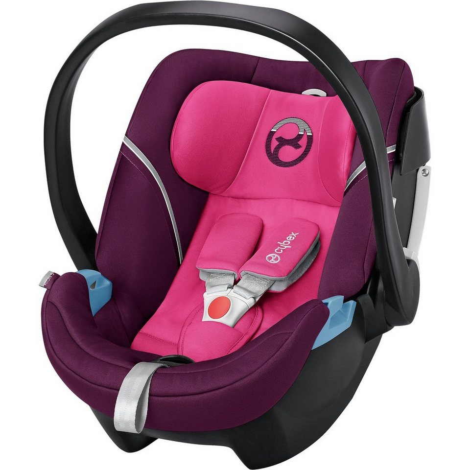 Cybex Babyschale Aton 5, Gold-Line, Mystic Pink-Purple, 2017 in pink