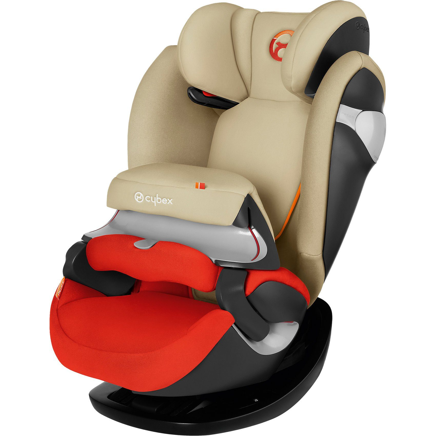 Cybex Auto-Kindersitz Pallas M, Gold-Line, Autumn Gold-Burnt Red,