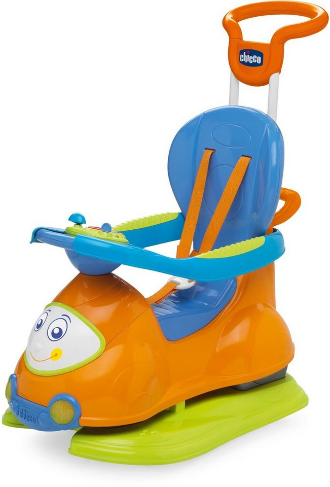 Chicco® 4in1 Rutscher und Lauflernwagen mit Activity Center »Quattro, Orange« in orange