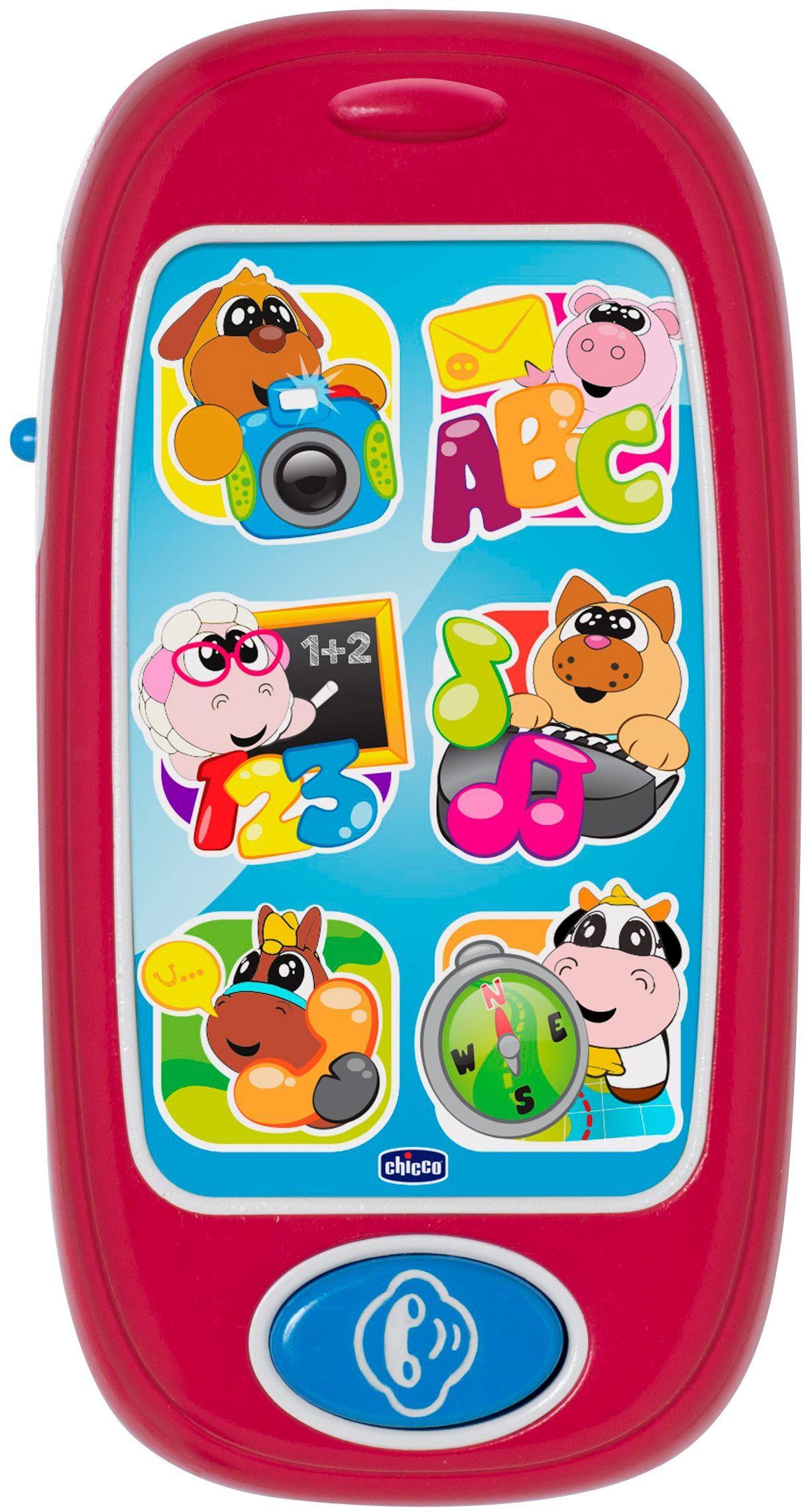 Chicco® Elektronisches Spielzeug mit Licht und Soundfunktion, »Bilingual ABC Smartphone D/GB«