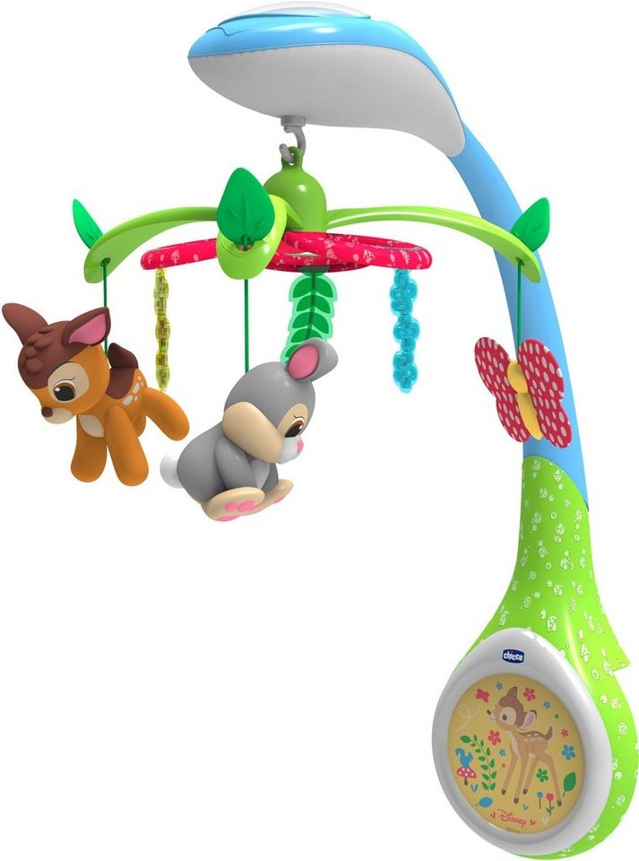 Chicco® Mobile mit Lichtprojektion und Soundfunktion, »Disney baby Bambi Mobile«