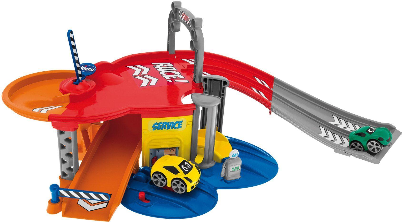 Chicco® Spielparkhaus mit 2 Spielautos, »Turbo Team Elektrische Garage Stop&Go«