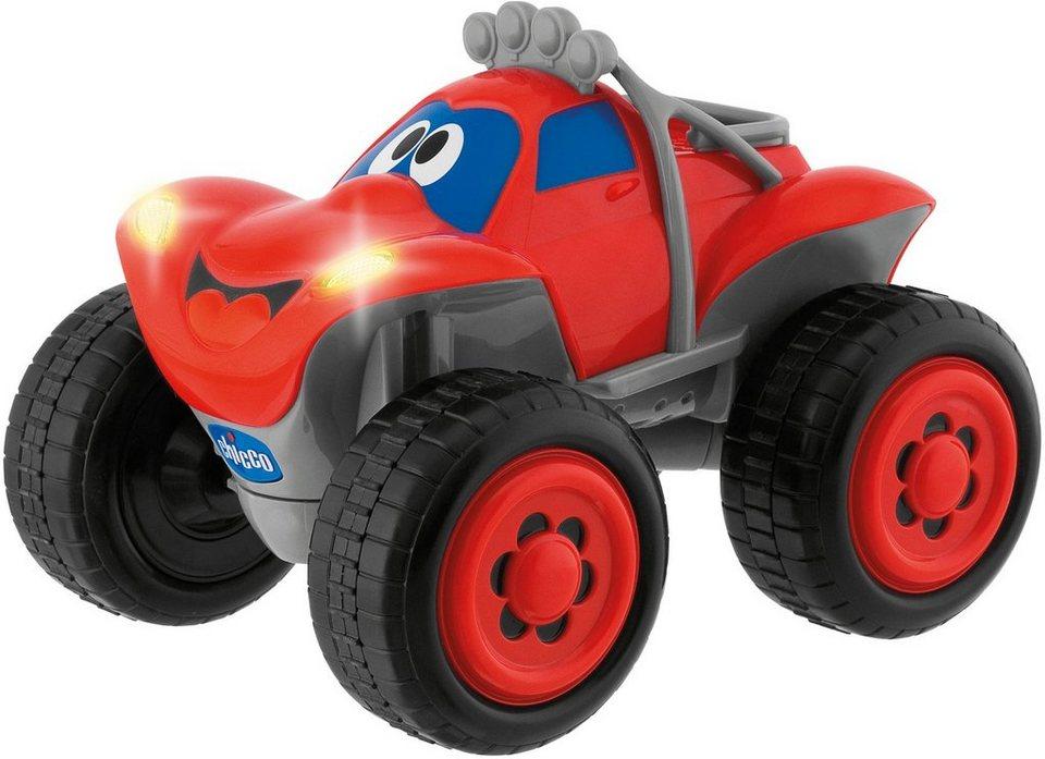 Chicco® RC Auto mit Licht und Soundfunktion, »Turbo Team Billy BigWheels, Rot« in rot