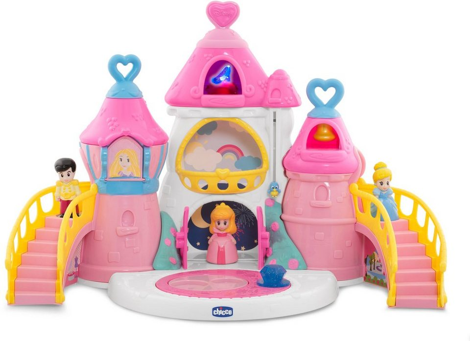 Chicco® Spielset m. Figuren u. Soundfunktion, »Disney Princess Magisches Prinzessinnenschloss«