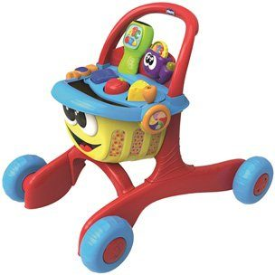 Chicco® Lauflernwagen mit Licht und Soundfunktion, »Bilingual ABC First Steps Shopping D/GB«