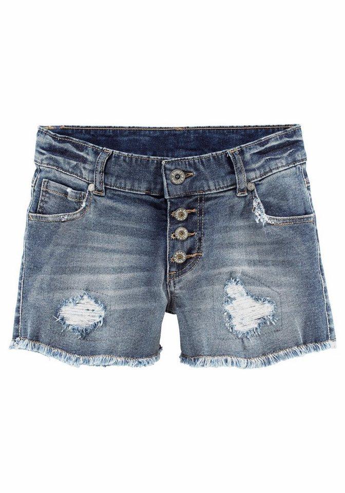 Arizona Jeansshorts in blue-denim