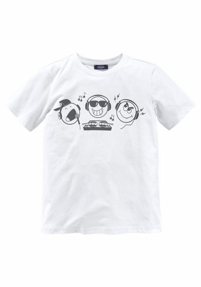 Buffalo T-Shirt in weiß
