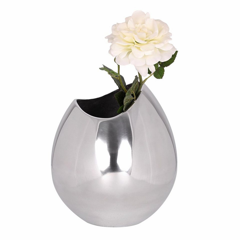Home affaire Deko Vase »Bowl« in silberfb.