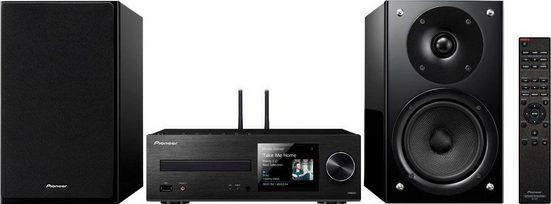 Pioneer »X-HM86D« Microanlage (FM-Tuner mit RDS, Digitalradio (DAB), Internetradio, 130 W)