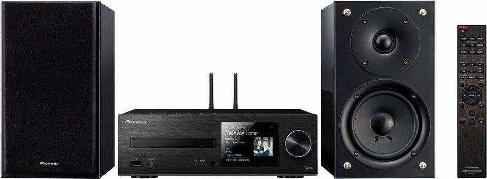 Pioneer X-HM76 Microanlage, Hi-Res, Deezer/Spotify, Airplay, Bluetooth, WLAN, RDS, 2x USB in schwarz